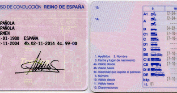 JustLanded! BCN Spanish Driving License - Moving to